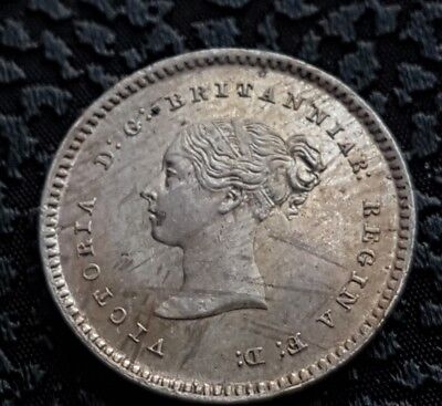 Queen Victoria Two Pence 1844 Proof -Unc