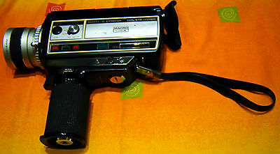 Cosina HDL-875 Macro S8 Super 8 Movie Film Camera, made in Japan, made in 1975