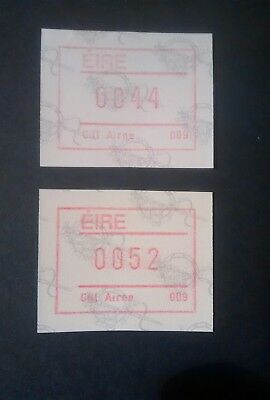 Ireland Stamps mnh frama labels  Killarney 009  44 & 52p