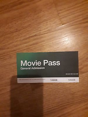 Showcase cinema ticket for general admission