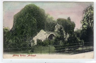 ABBEY RUINS: Co Armagh Northern Ireland postcard (C31737)