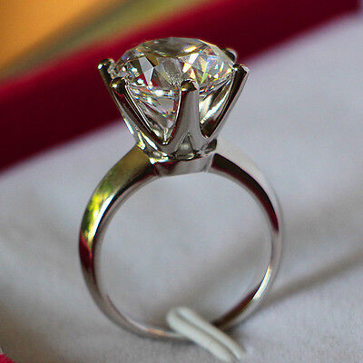 nscd sona 2ct diamond ring engagement proposal bridal lab PT950 solitare single