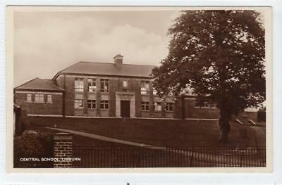 CENTRAL SCHOOL, LISBURN: Co Antrim Northern Ireland postcard (C31734)