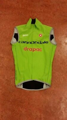 Original Castelli Cannondale Drapac Body Windstopper (XS)
