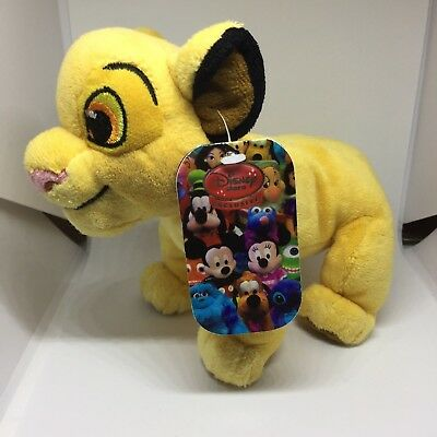 The Lion King Simba Plush Toy Disney Store Exclusive Soft Cuddly Cub