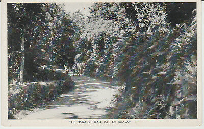 Isle Of Raasay - The Osgaig Road -  Postcard #