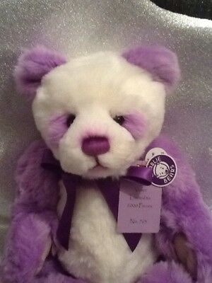 Charlie Bears Violet, limited edition number 763 of 2000