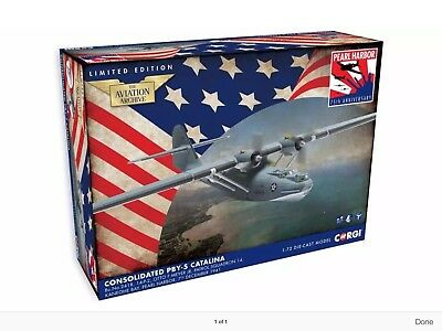 Corgi - AA36110 - Consolidated PBY-5 Catalina Patrol Squadron 14 Pearl Harbour