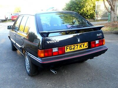 Rare 1989 Volvo 340 GL Redline, Black Manual, One Owner from New 55K, Long MOT