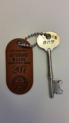 Anthony Wayne Hotel Hamilton Ohio Key and Fob
