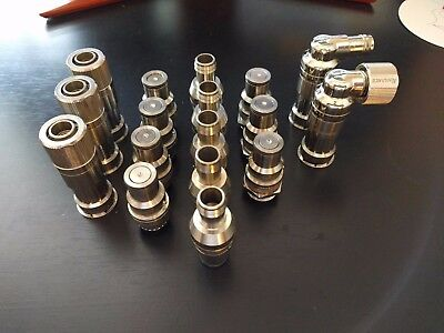 Lot, Various Koolance Quick Disconnect Watercooling Fittings (VL3N)