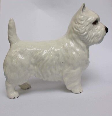 A Beswick West Highland Terrier