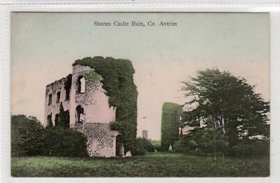 SHANES CASTLE RUIN: Co Antrim Northern Ireland postcard (C31711)
