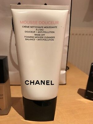 Chanel Mousse Douceur 150 ml Rinse Off Foaming Cleanser Balance Anti Pollution
