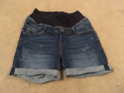 Maternity Denim Shorts From H&M Size 12