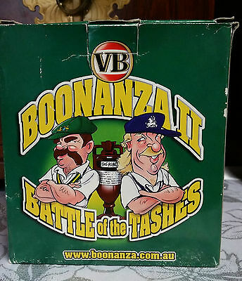 "Collectible VB VICTORIA BITTER "" BONANZA 11 BATTLE OF THE TASHES"""