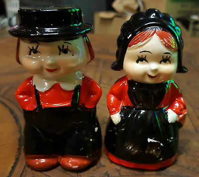 """Vintage Rare """"man & Woman"""" Salt & Pepper Set, Part Of 60 Years Collections"""