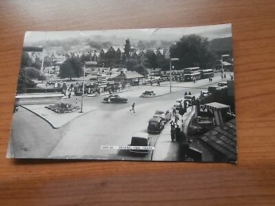 West Glamorgan Neath General view of bus station and Victoria gardens/old cars F