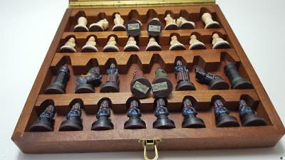 G830 Authentic Adorable Anri Magnetic Travel Chess Set