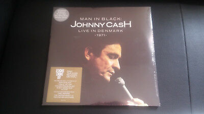 Johnny Cash Live In Denmark '71 RSD VInyl Sealed Limited
