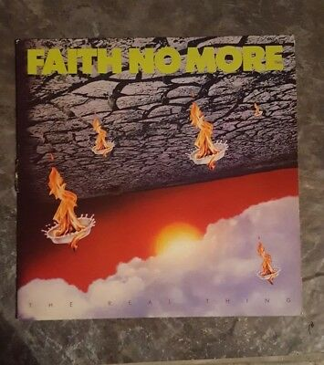 """Faith No More - The Real Thing 1989 original LP 12"""" vinyl record featuring EPIC"""