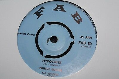 "Prince Buster Hypocrite Uk 7"" Mint Looks Unplayed"