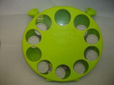 Dreamworks Shrek..3D memory match up board game and case (0529-MY)