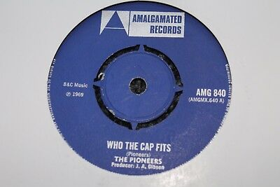 "The Pioneers Who The Cap Fits Uk 7"" Top Copy"