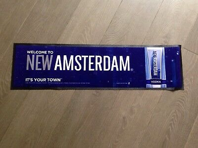 New Amsterdam Vodka Bar Runner Brand New