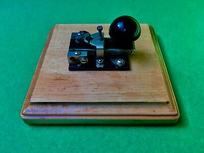 UltraRare YA1860 CIRCA1915WW1&2 is One Of The Worlds Smallest Morse Keys