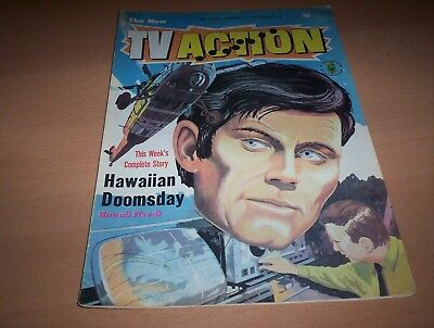TV Action Comic Issue No. 105 Week Ending 17th February 1973