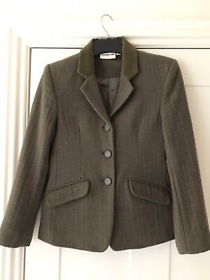 Children's Wool Blend Dublin Cubbington Riding Jacket Nearly New Aged 12