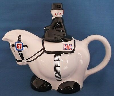 Wade Teapot Dressage Horse Riding Rider Saddle Tack Equestrian Unused Mint