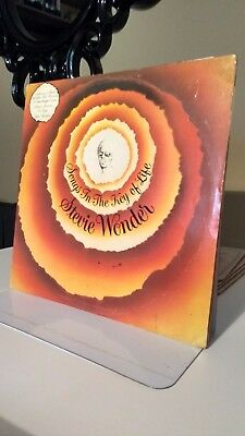 STEVIE WONDER - SONGS IN THE KEY OF LIFE VINYL DBL LP funk/soul collection