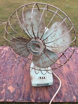 Antique Electric 3 Speed Fan Vintage Retro