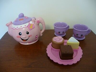 Fisher-Price Laugh & Learn Say Please Tea Set Excellant Condition
