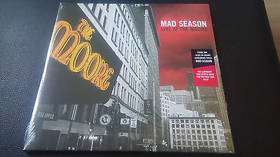 Mad Season Live At The Moore Theatre Vinyl Sealed LP Pearl Jam Alice In Chains
