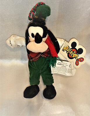 Vintage Walt Disney Christmas Ornament Goofy With Tag Rare Fast Free Shipping