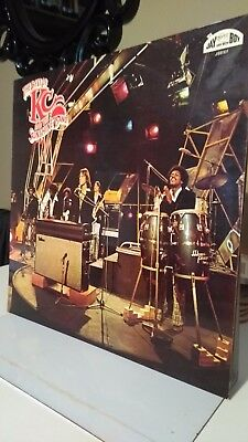 KC AND THE SUNSHINE BAND - BEST OF VINYL 1975 LP  funk/soul collection