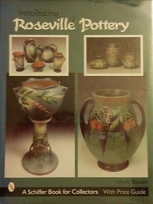 Introducing Roseville Pottery Value Guide Collector's Large Hardback Book 288 Pg
