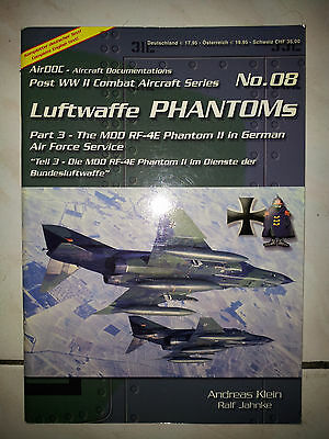 Airdoc Post WWII Combat Aircraft Series N.08 The MDD RF-4E Phantom II in Germany