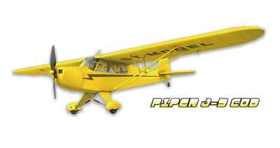 ST-Model Piper J3 Cub PNP RC Flugzeug 1210mm