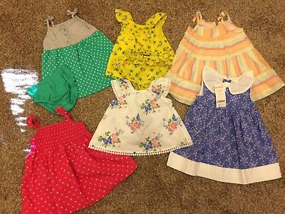 Lot Of Baby Clothes 6-12 Months Girls Gymboree Gap Janie And Jack Lot of 8