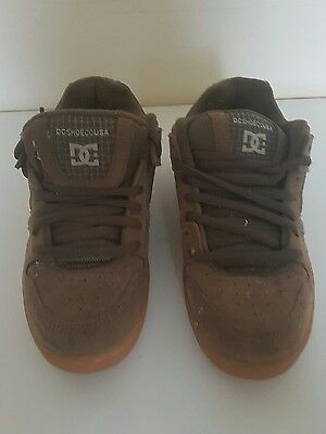 Dc Skateboard Trainers Uk 7 Brown