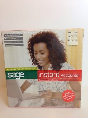 New And Factory Sealed Sage Instant Accounts Bookkeeping Made Easy