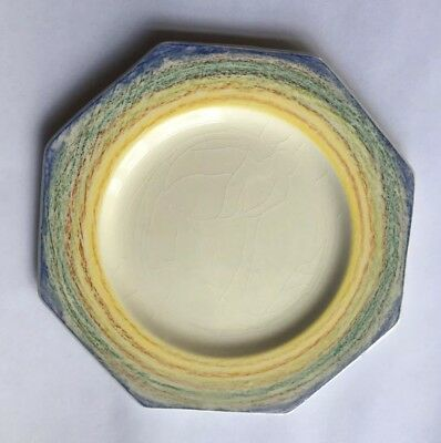 Hand Painted Clarice Cliff Big Anne Side Plate