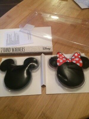 New/cute Disney Micky&minnie Mouse Hand Warmers By Primark Home