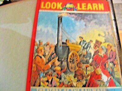 Look And Learn - Complete Joblot Of Magazines For Children From The 60's