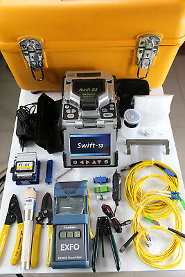 ILSINTECH Swift S3 SM MM Fiber Fusion Splicer w/ NEW Exfo EPM-53-RB