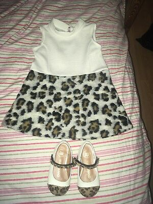 River Island Dress 12-18 Months And Baby Shoes Size 4